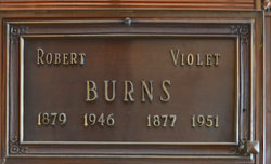 Violet <i>Stoops</i> Burns