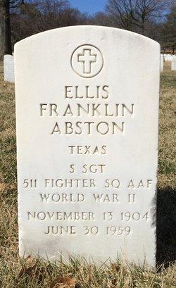 Ellis Franklin Abston