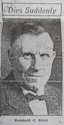 Reinhold C Klatt