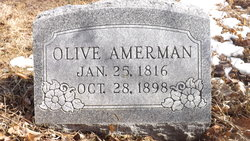 Olive <i>Bolser</i> Amerman