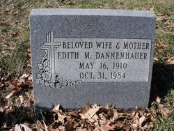 Edith Marie <i>Snyder</i> Dannenhauer