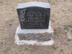 Frank Taft Benson