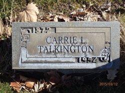 Carrie L. <i>Gwynne</i> Talkington