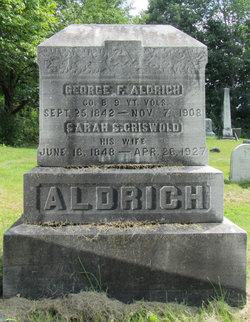 Sarah S <i>Griswold</i> Aldrich