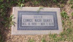 Eunice <i>Nash</i> Daniel
