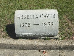 Mary Annetta <i>Pruden</i> Caven