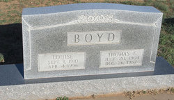 Mabel Louise <i>Grable</i> Boyd