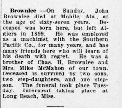 John Brownlee, Jr
