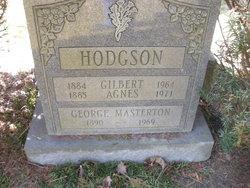 Agnes C <i>Masterton</i> Hodgson