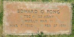Edward G Fong