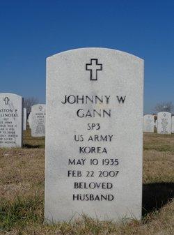Johnny W Gann