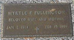 Myrtle E <i>Foster</i> Fullington