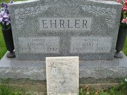 Mary E <i>Wachter</i> Ehrler