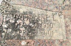Mattalene L. Mattie <i>Freeland</i> Bass