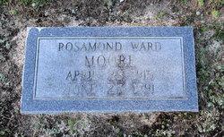 Rosamond H <i>Ward</i> Moore