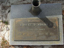Robert D Adams, Jr