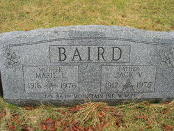 Marie E <i>Lane</i> Baird