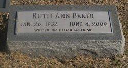 Ruth Ann <i>Culp</i> Baker