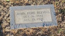 John Fore Blevins