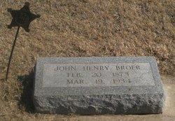 John Henry Broer, Jr