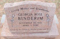 Georgia Rose <i>Smith</i> Binderim
