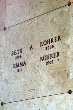 Seth A. Rohrer