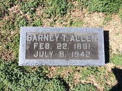 Barney T Allen