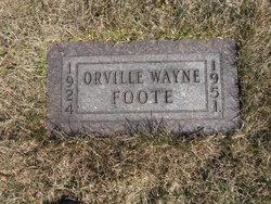 Orville Wayne Foote