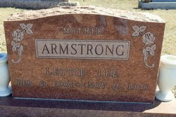 Lettie Lee <i>Reed</i> Armstrong