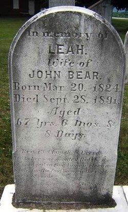 Leah Ruth <i>Rhoad</i> Bear