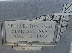 Fetherston (Fed) Holdiness