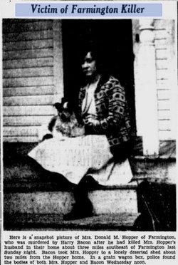 Edna Elizabeth <i>Bennett</i> Hopper