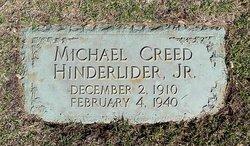 Michael Creed HINDERLIDER, Jr