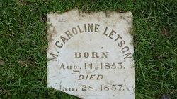 M. Caroline Letson