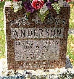 Gladys L <i>Logan</i> Anderson