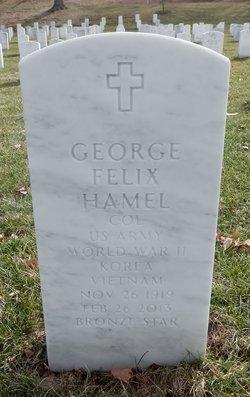 George Felix Hamel