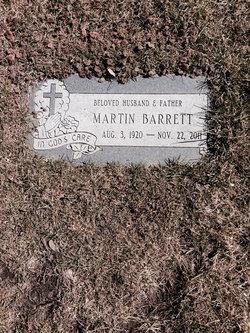 Martin R Barrett