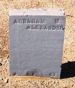 Abraham Michael Alexander