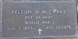 Felton Dubignon McCrary, Sr