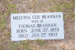 Melvina E. <i>Cox</i> Brannan