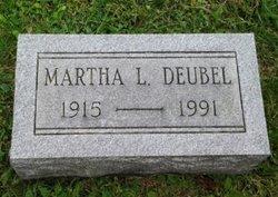 Martha L <i>Dubel</i> Busch