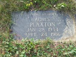 Agnes Plaxton
