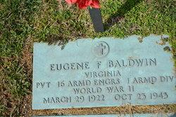 Pvt Eugene F. Baldwin