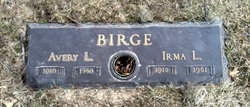 Irma Laurene <i>Tannahill</i> Birge