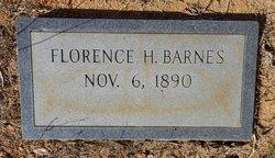 Florence H Barnes