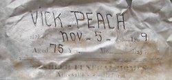 Samuel Victor Vick Peach