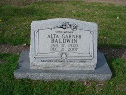 Alta Viola <i>Garner</i> Baldwin