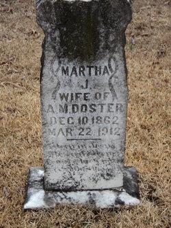 Martha Jane <i>Massengill</i> Doster