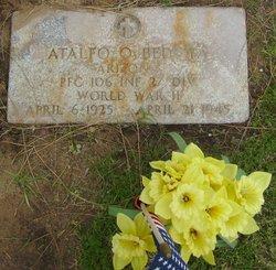 PFC Atalfo O. Bedoya