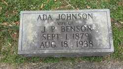 Ada Johnson Benson